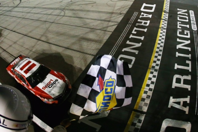 Denny Hamlin Sweeps Throwback Weekend at Darlington Raceway