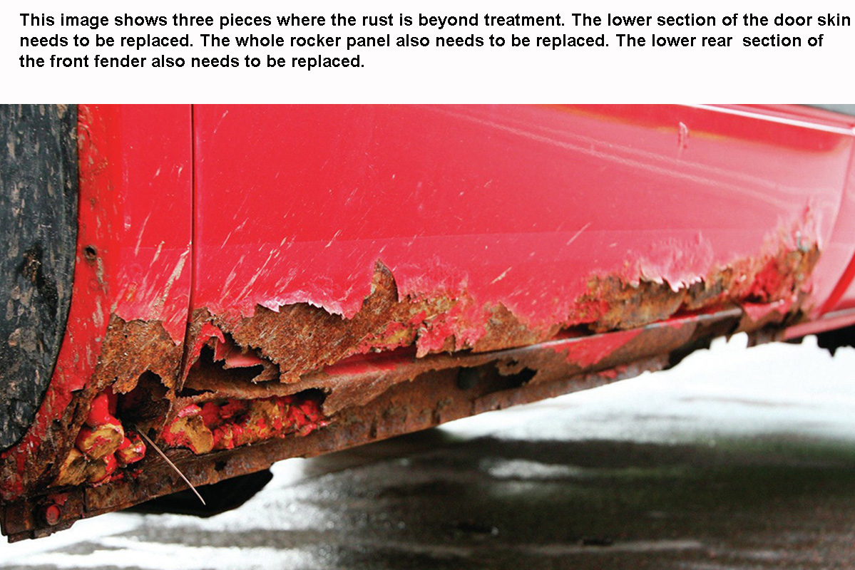 Overcoming Rust During a Restoration