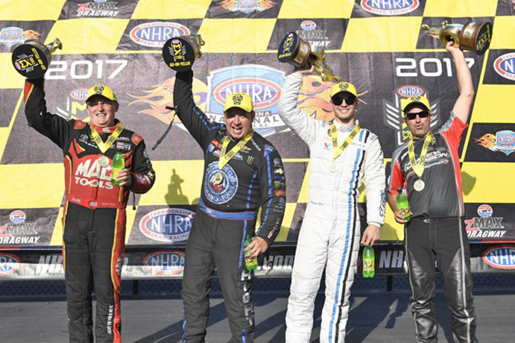 Dodge-Mopar Has Strong Showing Going Into NHRA Final Four