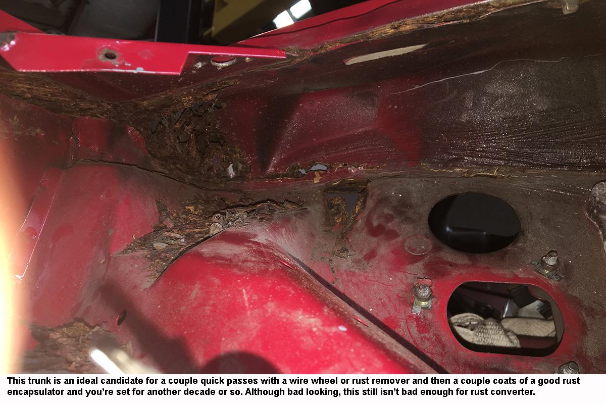 Overcoming Rust During a Restoration – RacingJunk News