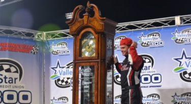 NASCAR Star Earns Second ValleyStar 300 Victory