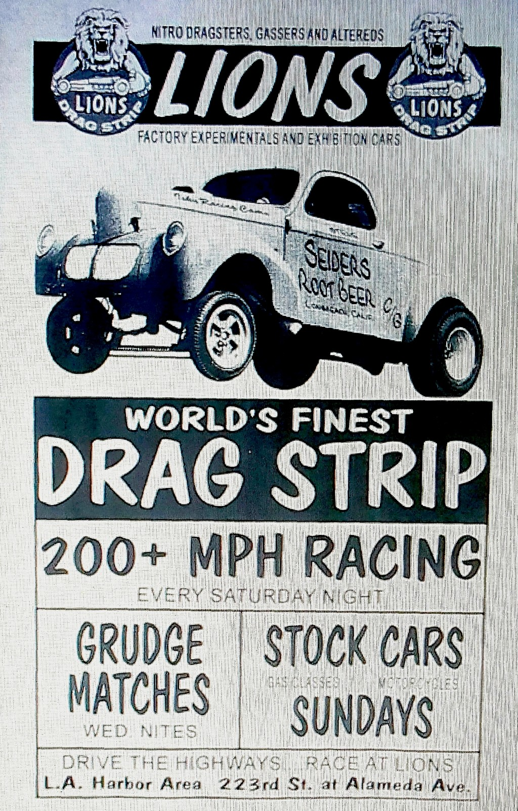 Los Angeles Historic Drag Strip Reopens... Sort of