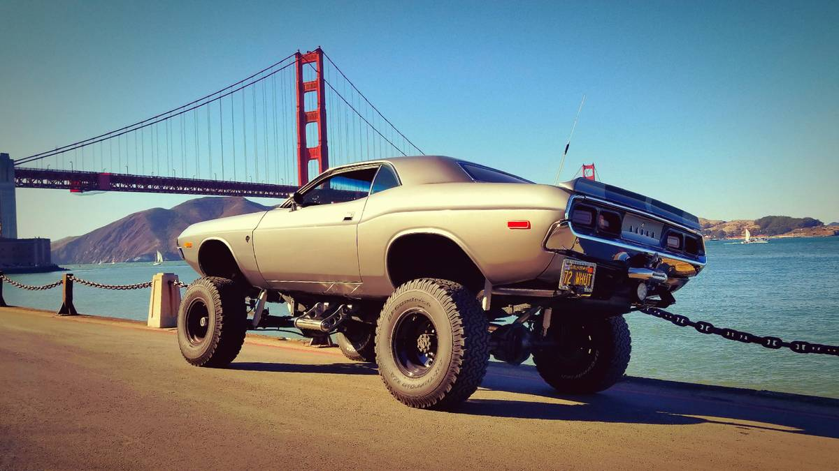 This '72 Challenger is a Backcountry Jeep Eater
