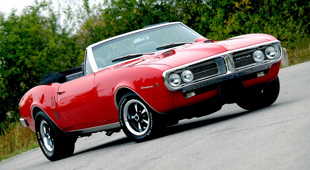 Muscle Car Madness: 1967 Firebird 400 Convertible