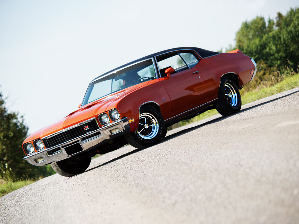 Muscle Car Madness: 1972 Buick GS 455
