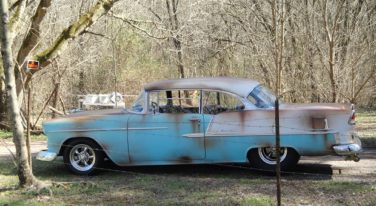 Today's Cool Car Find is this 1955 Chevrolet Belair Hardtop