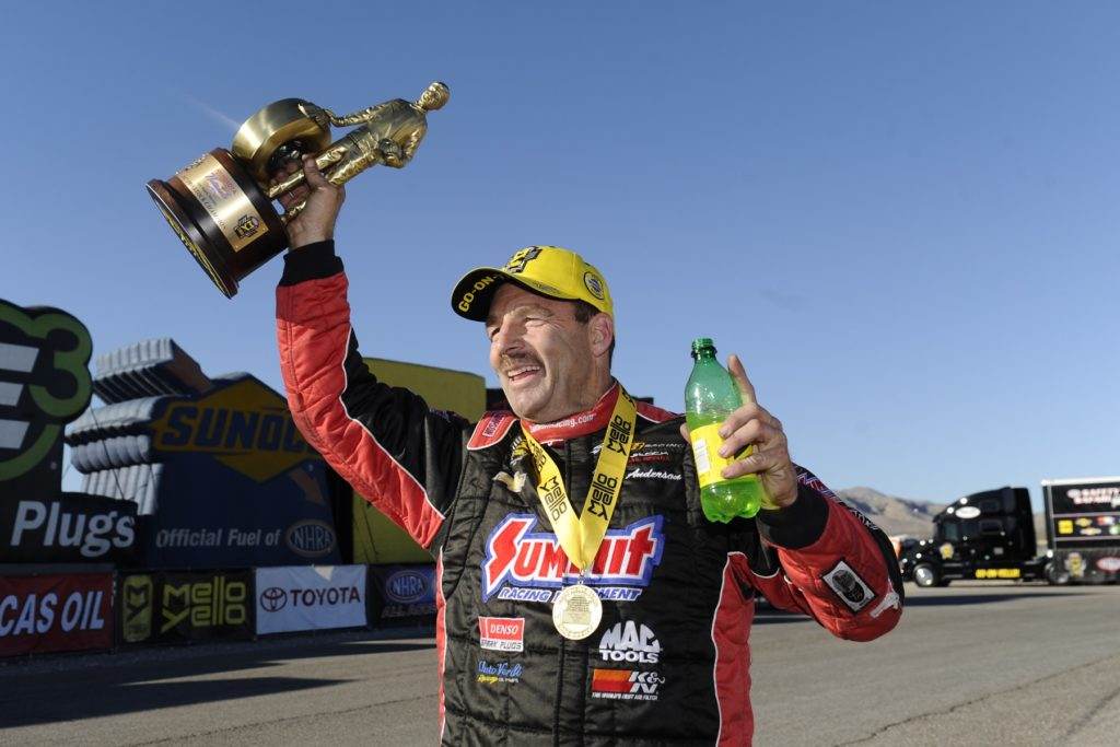 McMillen Earns First Win at NHRA Toyota Nationals