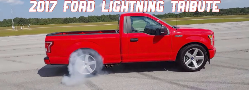 Is That A 2017 Ford Lightning Racingjunk News