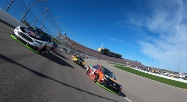 Bell, Truex Find NASCAR Wins at Kansas Motor Speedway