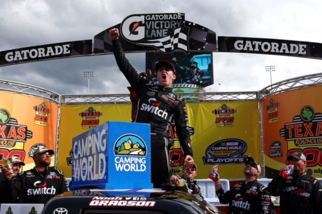 Noah Gragson and Kyle Busch Earn Short Track Victories at Martinsville Speedway