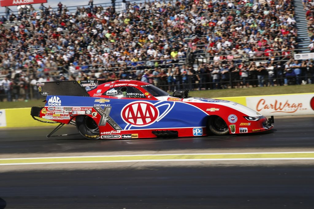 Force, Hight and Line Challenge NHRA Points Leaders at AAA Texas NHRA FallNationals