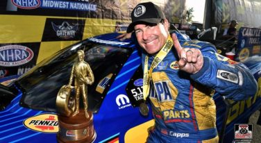 Capps Chasing His NHRA Back to Back Funny Car Championship