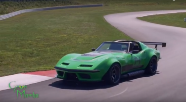 [Video] The Green Mamba is One Mean Corvette Build