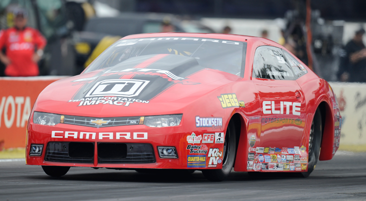 Baldwin and Enders Headline McLeod Weekend at NHRA Nats in Las Vegas