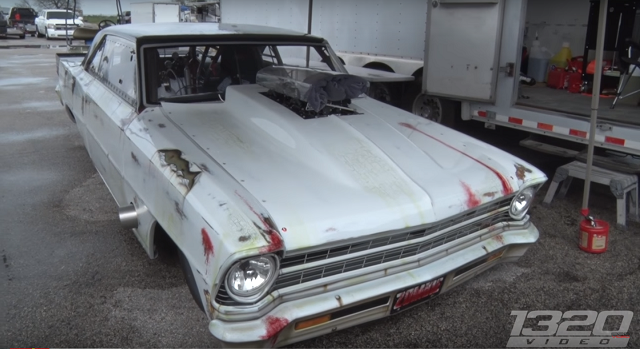 1320 Video, Nova, Drag Racing, Chevy II, Video.