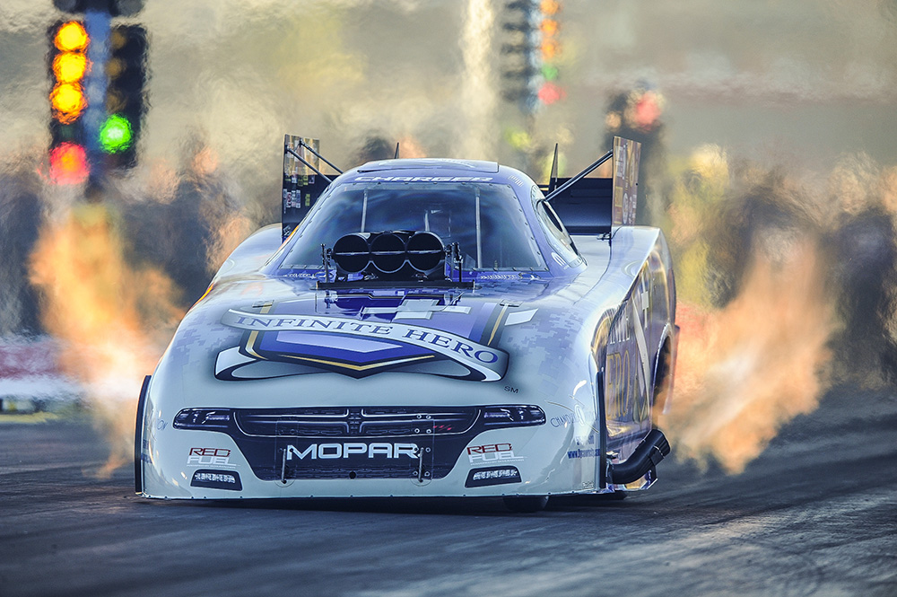 Adios NHRA Funny Car Laid-Back Headers