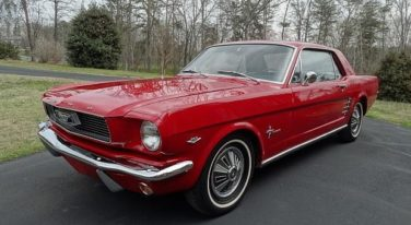 Today's Cool Car Find is this 1966 Ford Mustang