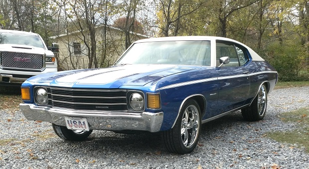 Today's Cool Car Find is this 1972 Chevrolet Chevelle Malibu