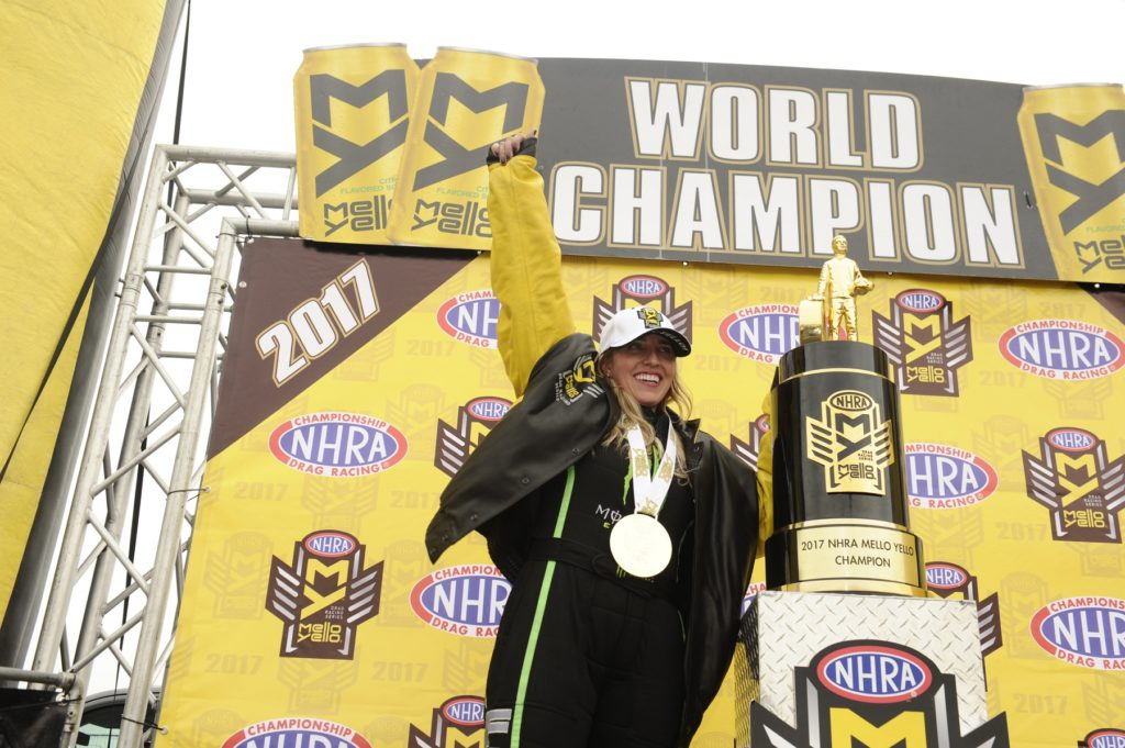 Winners Circle Full of Surprises at 2017 NHRA Finals