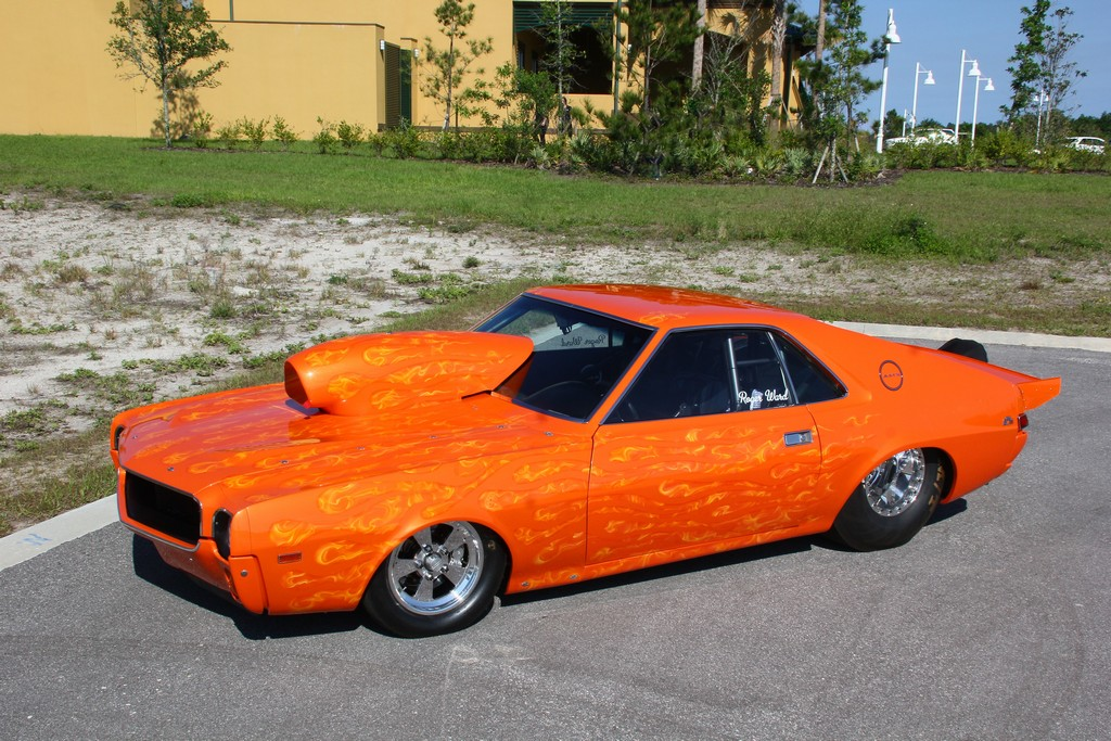 Orange Crush 1969 AMC AMX – RacingJunk News