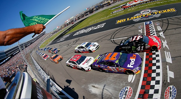 Sauter, Jones and Harvick Earn NASCAR Victories at The Great American Speedway