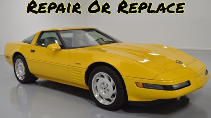 Repair or Replace, Chase Clute, Corvette, ZR1