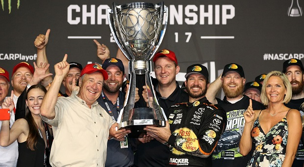 2017 NASCAR Champions Crowned at Homestead-Miami Speedway