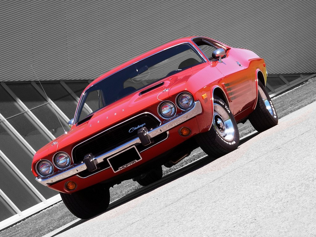 Muscle Car Madness: 1973 Dodge Challenger