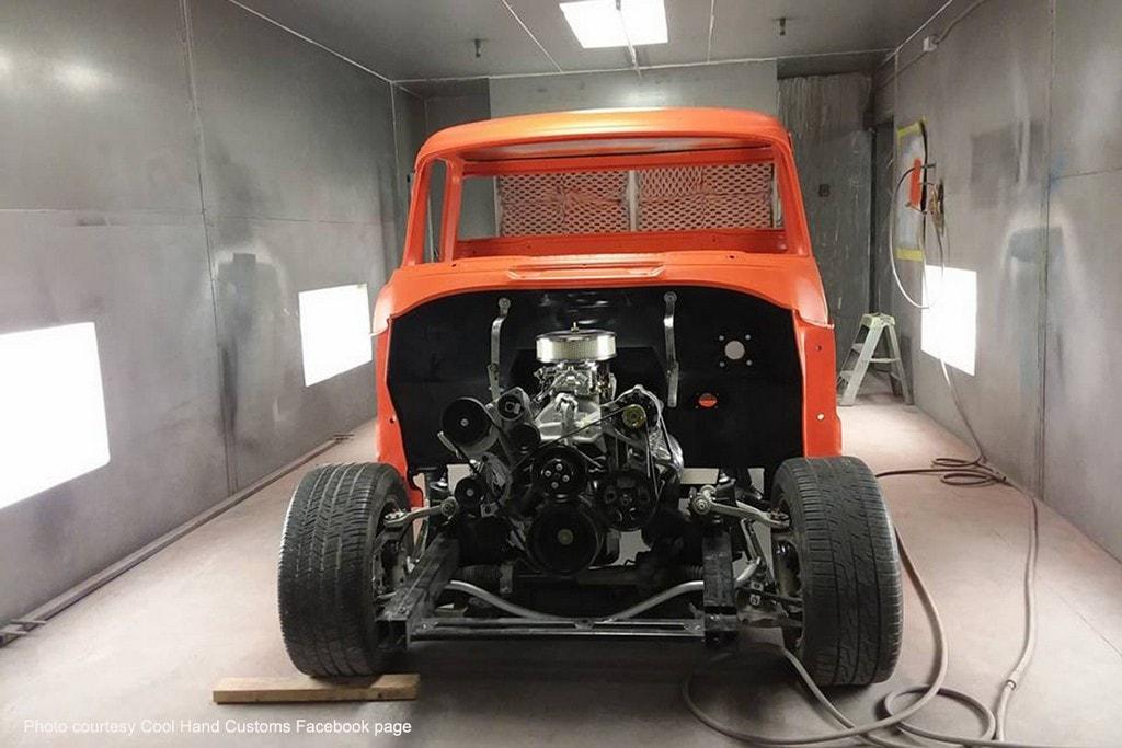 Cool Hand Custom\'s \'55 Dodge Pickup – RacingJunk News