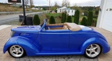 Today's Cool Car Find is this 1937 Ford Convertible