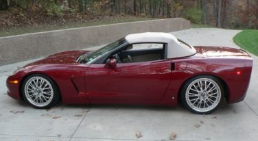Today's Cool Car Find is this 2007 Corvette Convertible 3LT Z51
