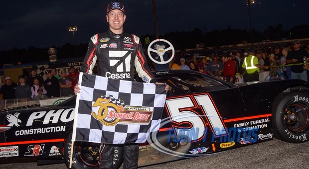Monster Energy NASCAR Cup Star Wins 50th Annual Snowball Derby