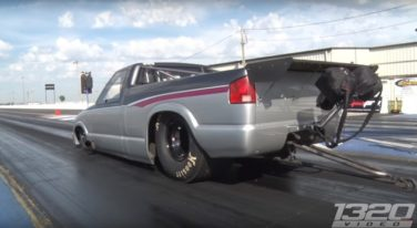 1320 video, Chevy S10. No Prep, Drag Racing Rocky Mountain Race Week