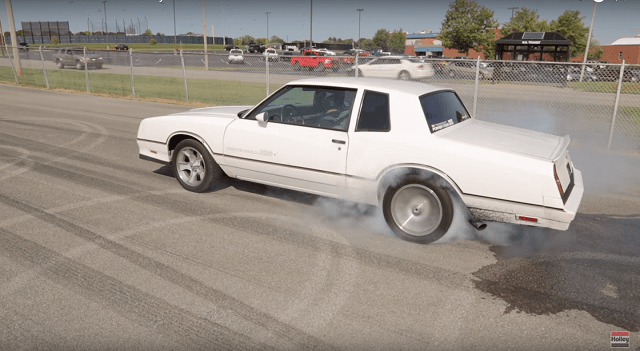 Burnout, Holley, How to do a burnout