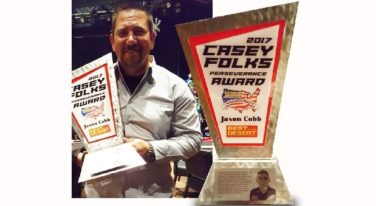 Jason Cobb Wins First Casey Folks Award