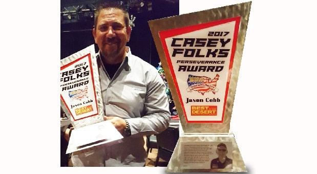 Jason Cobb Wins First Casey Folks Award