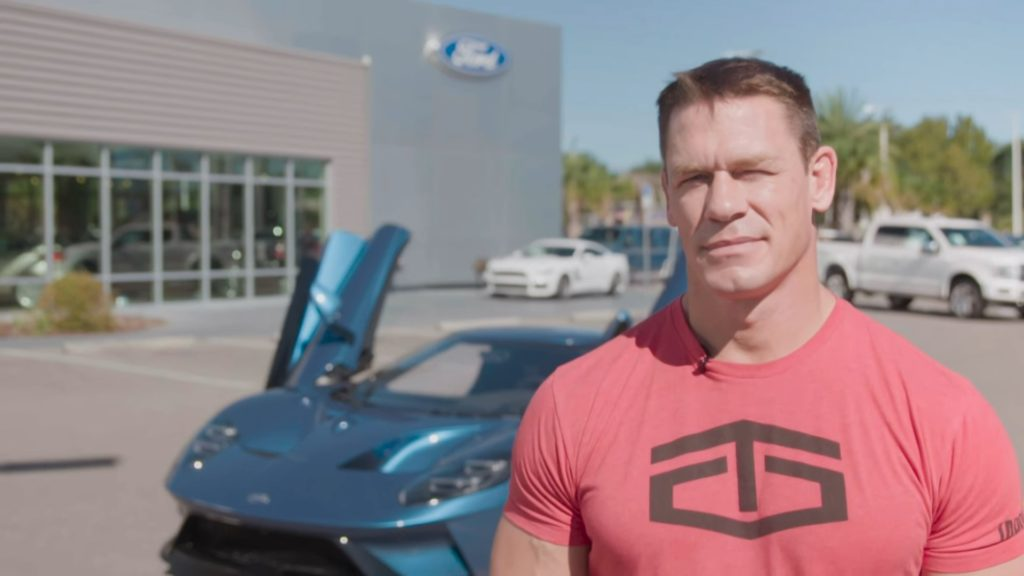 Ford GT, John Cena