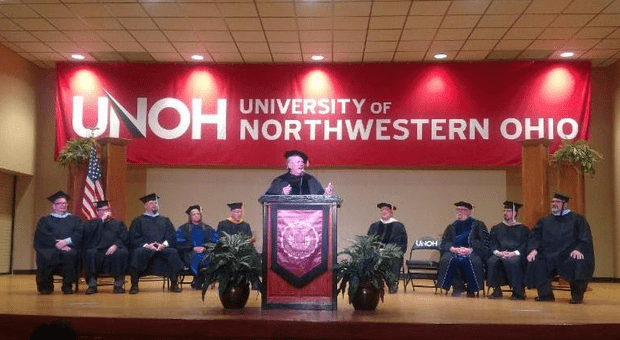 John Force Receives Honorary Doctorate