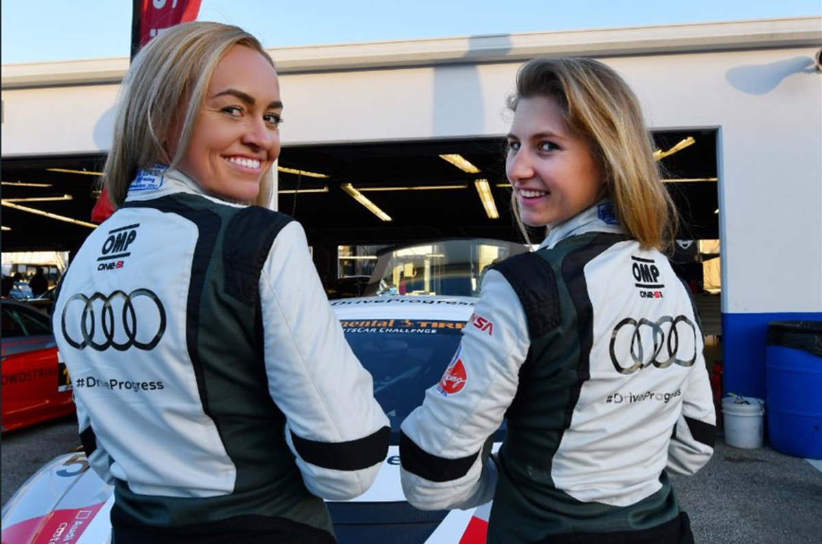 All-Female Race Group Makes History at Daytona