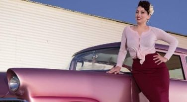 Pinups of the Week: Miss Grand National Roadster Show Trophy Girl Contestants