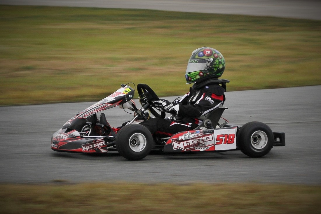 Kart Week 2018 day 2,Gary Rosier, Kart Racing