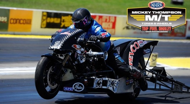Vance & Hines Enter Top Fuel Harley