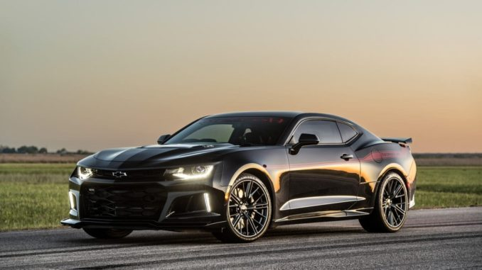 Video Hennessey Introduces The Exorcist 1000bhp Camaro