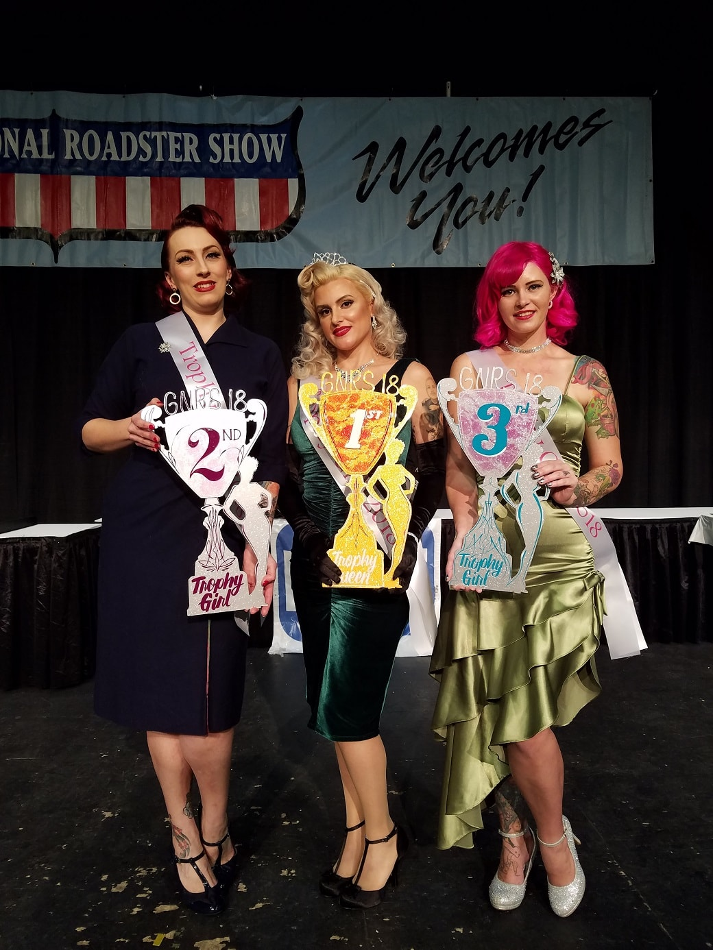 Pinups of the Week: Miss Grand National Roadster Show Winners