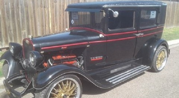 Today's Cool Car Find is this 1928 Chevrolet Imperial Landau
