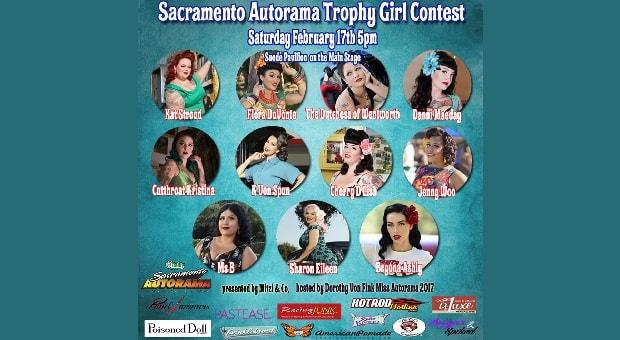Pinups of the Week: Sacramento Autorama Trophy Girl Finalists