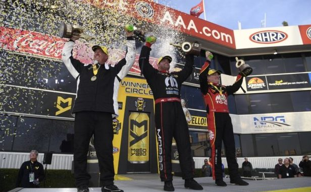 NHRA 2018 Winternationals Winners Circle