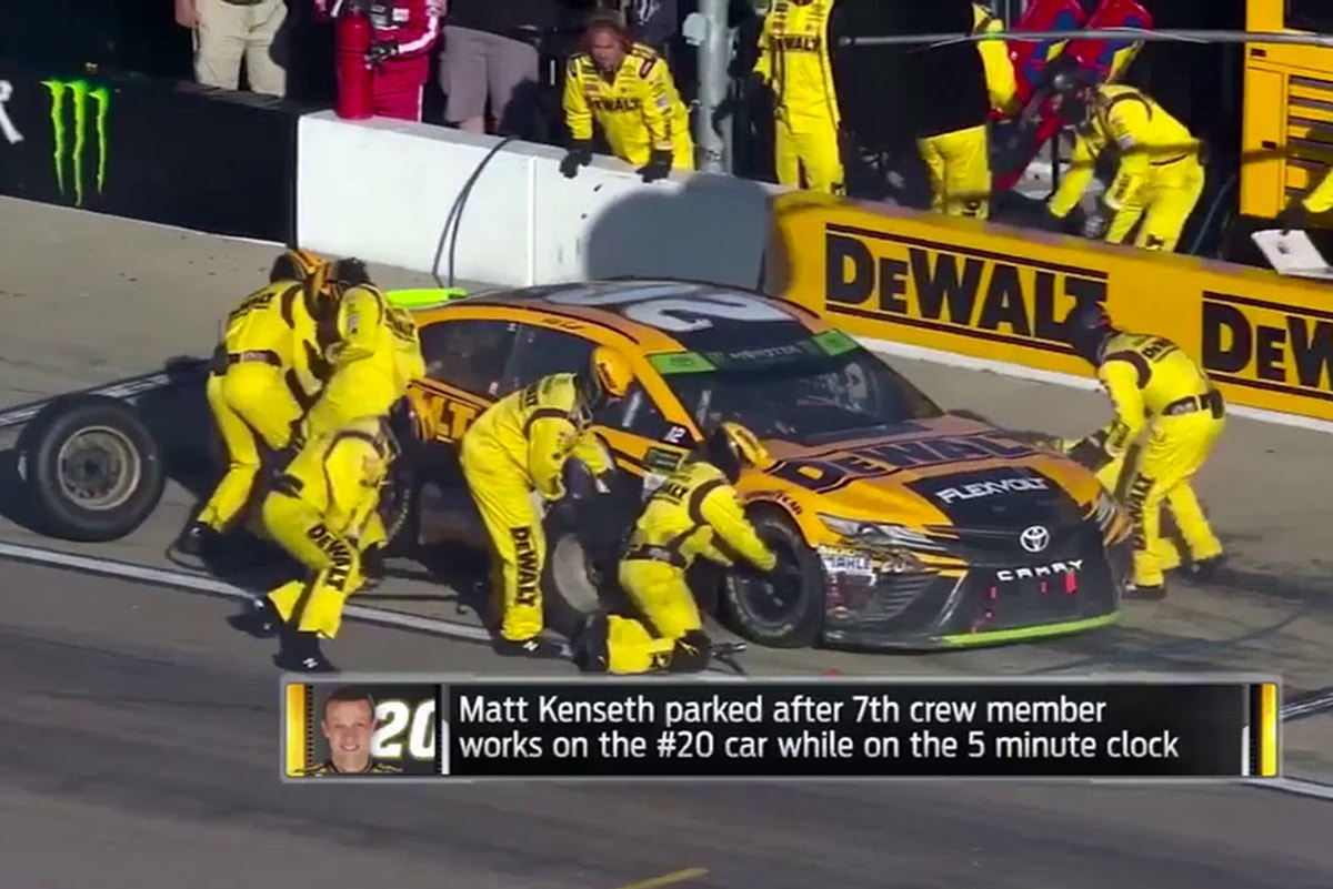 NASCAR Teams Prep for New Rule Changes
