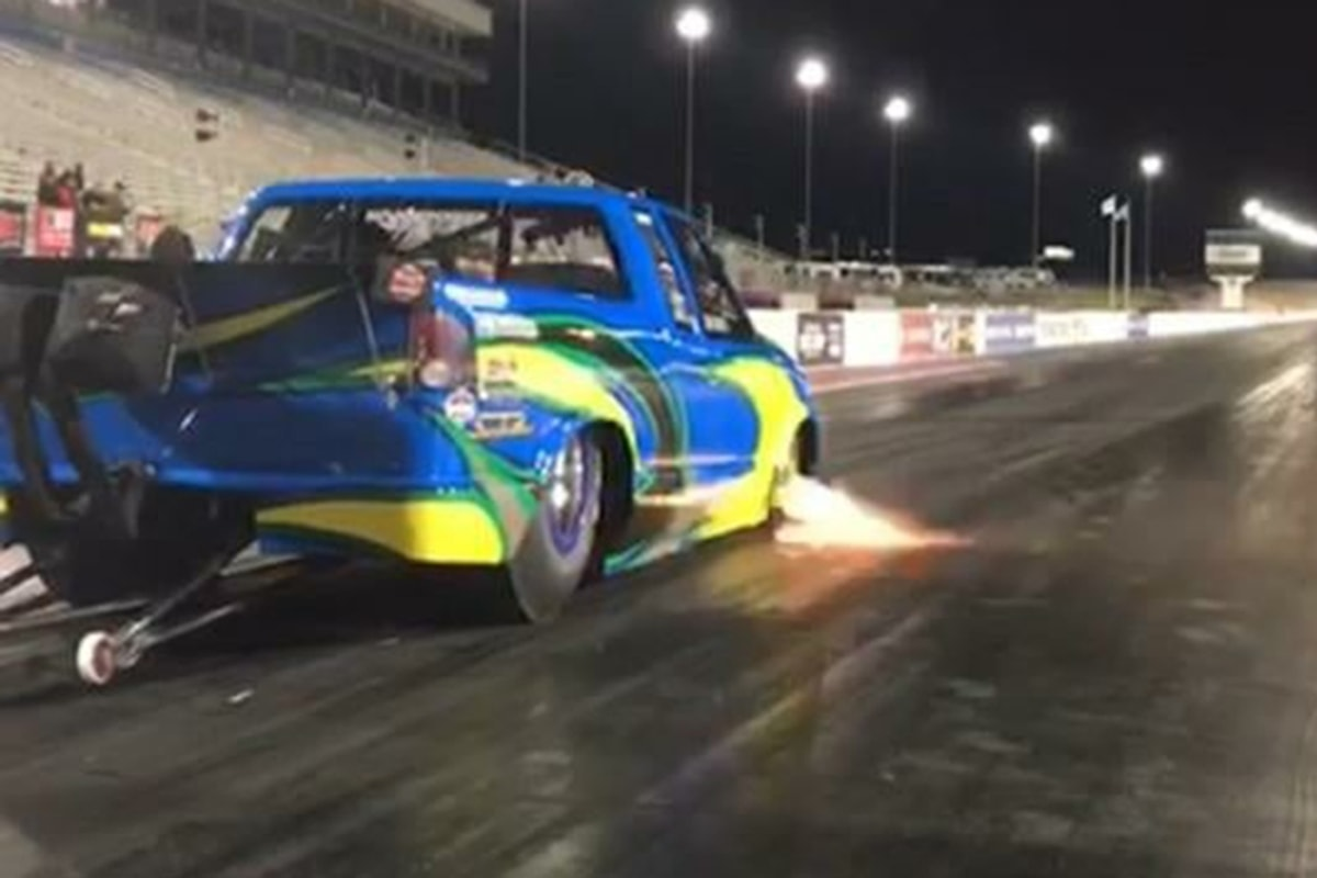 Stock-Bottomed 5.3 LS Powers Pro Stock 98 GMC to Seven Second Record