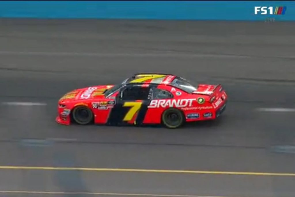 Keselowski, Harvick Weather Rain to Take NASCAR Wins in Phoenix